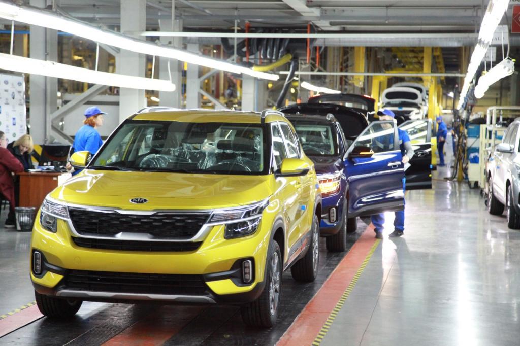 Kia Seltos начали серийно производить на заводе в Калининграде