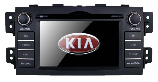 Штатная магнитола Kia Mohave владеет лучшим видеорегистратором